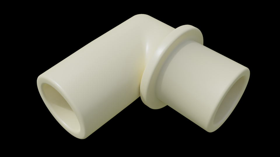 Hohner Piano 36 elbow rendering